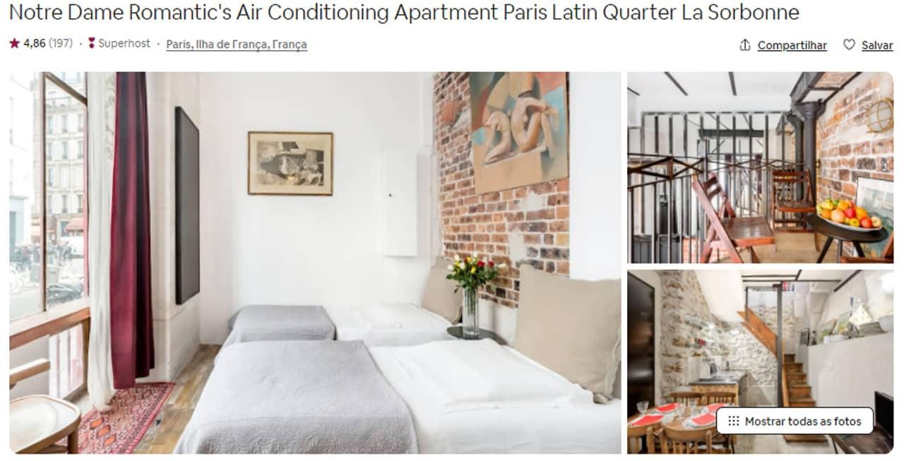 Airbnb Paris la sorbonne