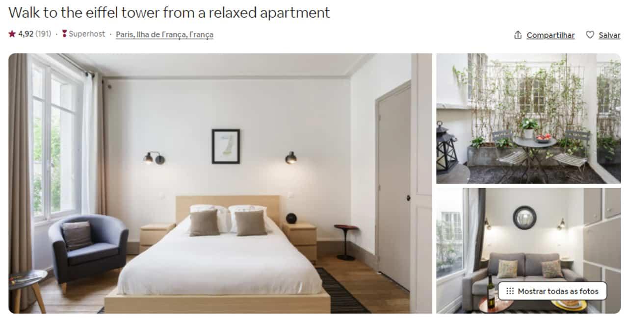Airbnb Paris casa
