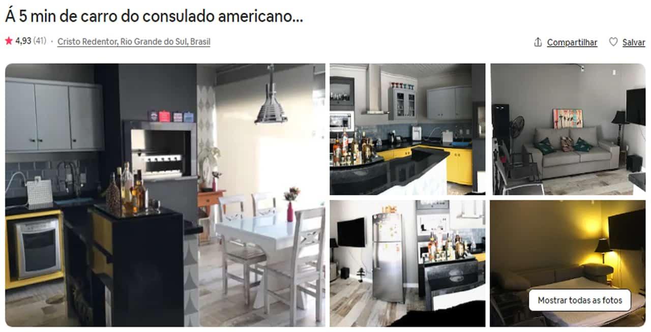 Airbnb Porto Alegre cristo redentor