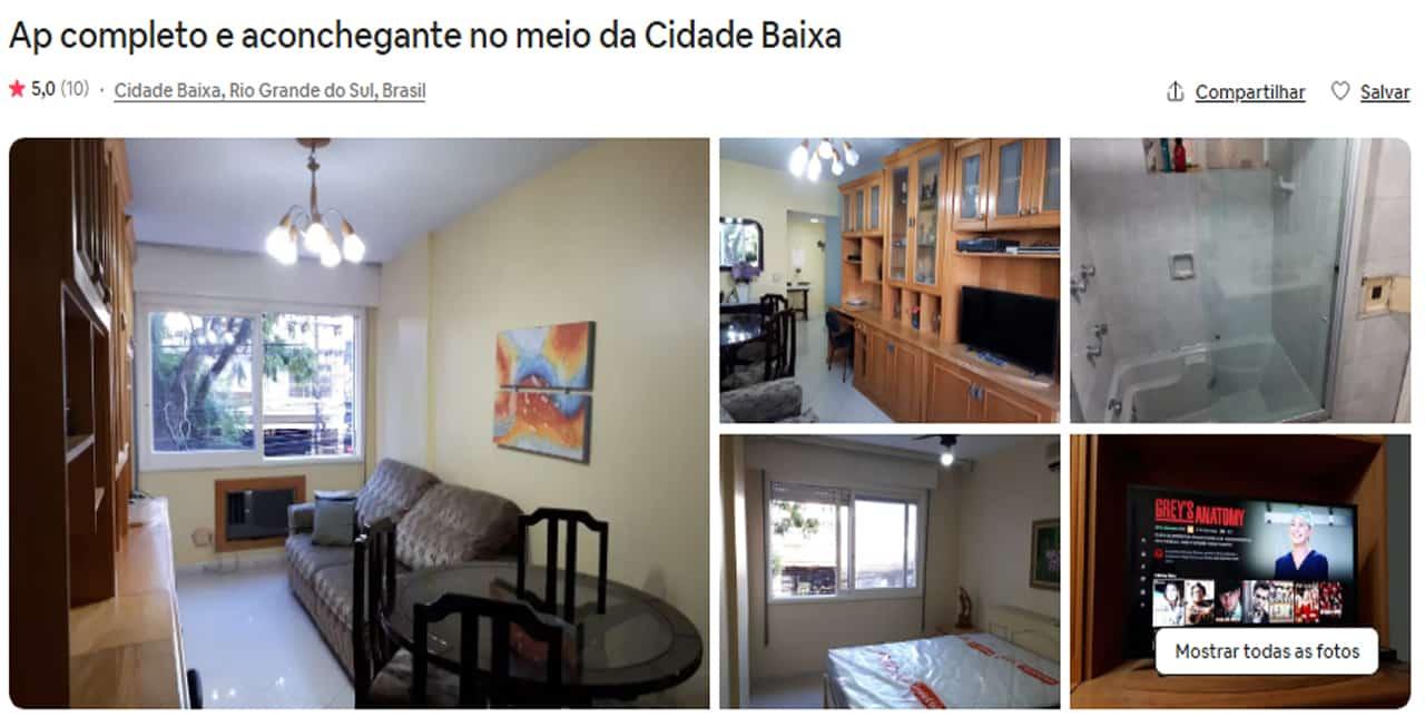 Airbnb Porto Alegre com piscina