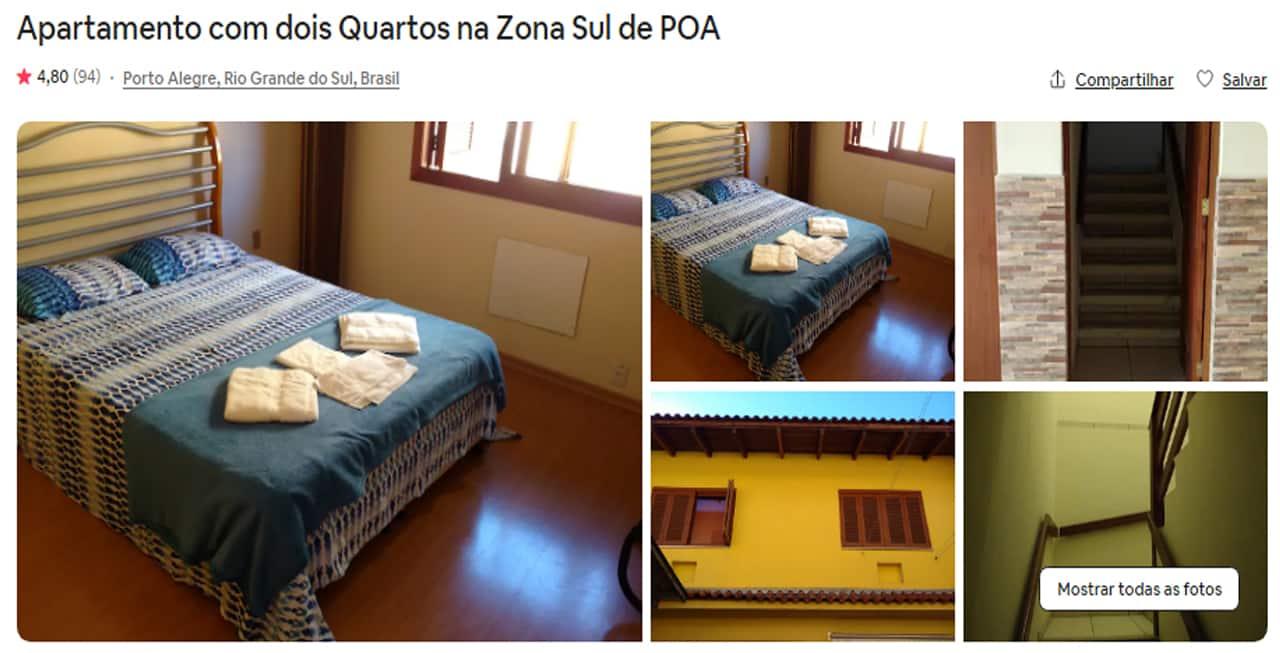 Airbnb Porto Alegre superhost