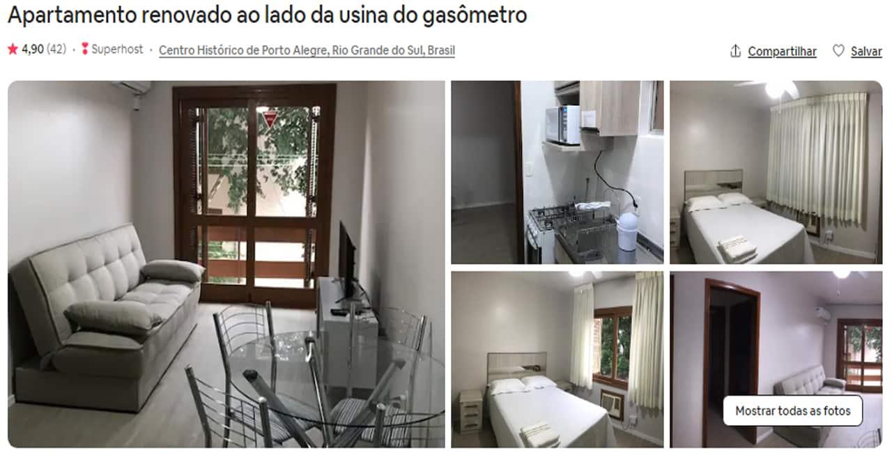 Airbnb Porto Alegre gasometro