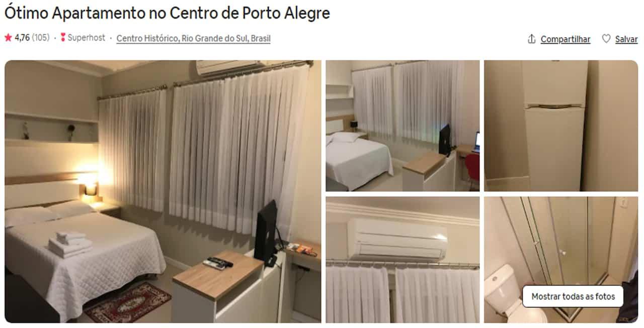 Airbnb Porto Alegre moinhos de vento