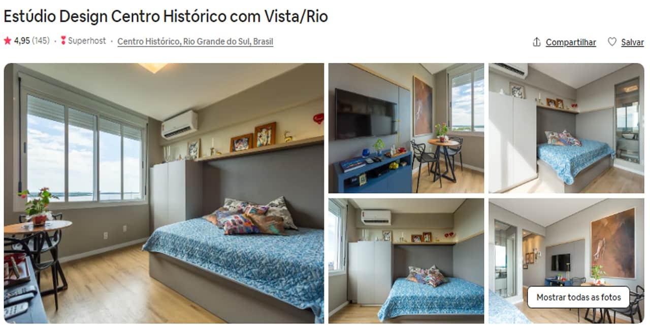 Airbnb Porto Alegre cidade baixa