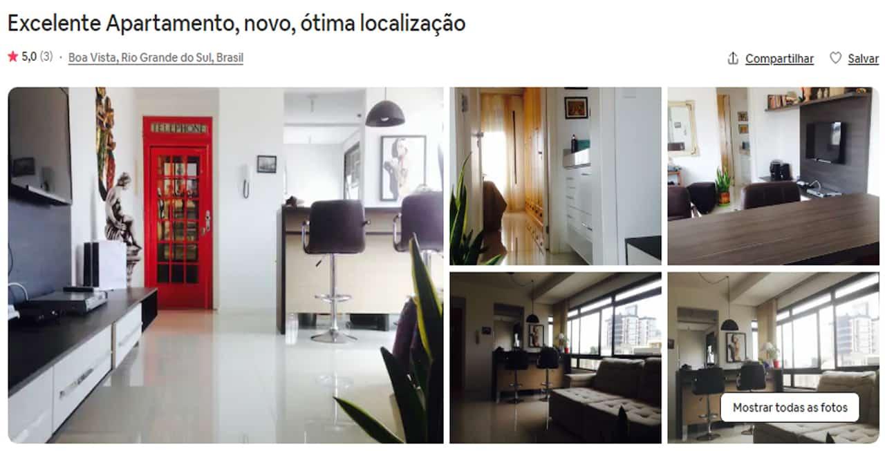 Airbnb Porto Alegre como escolher