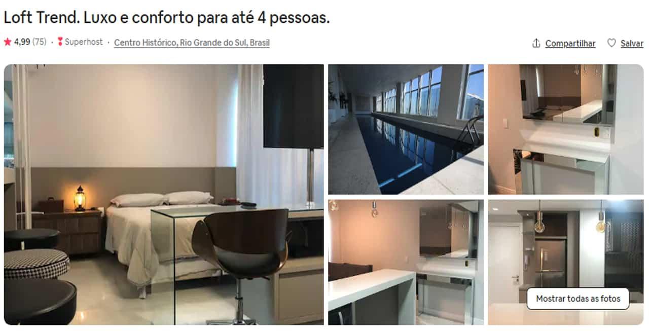 Airbnb Porto Alegre loft