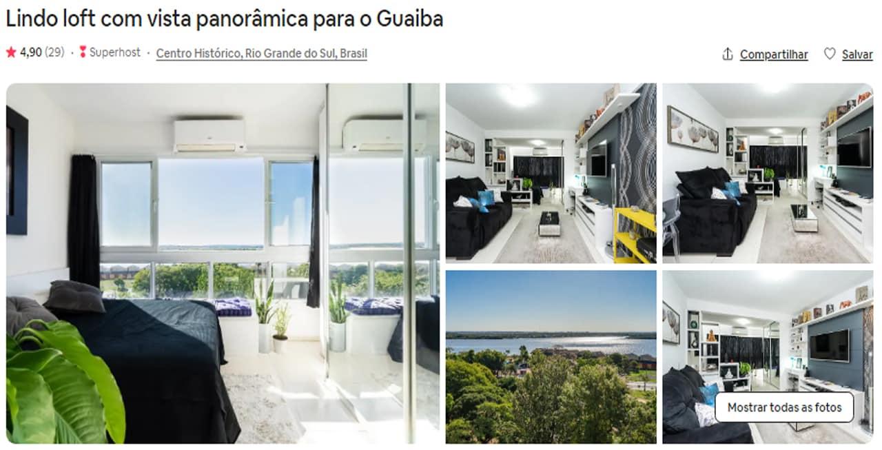Airbnb Porto Alegre centro historico