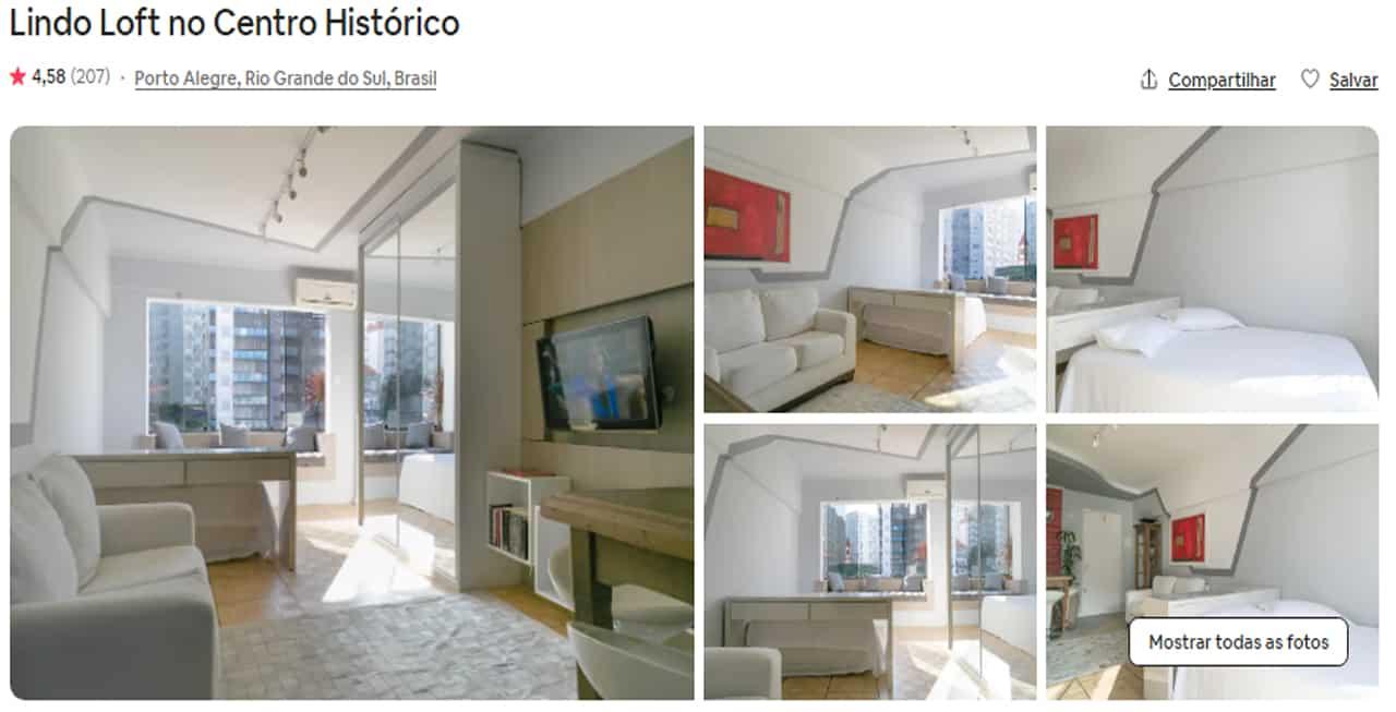 melhores Airbnb Porto Alegre