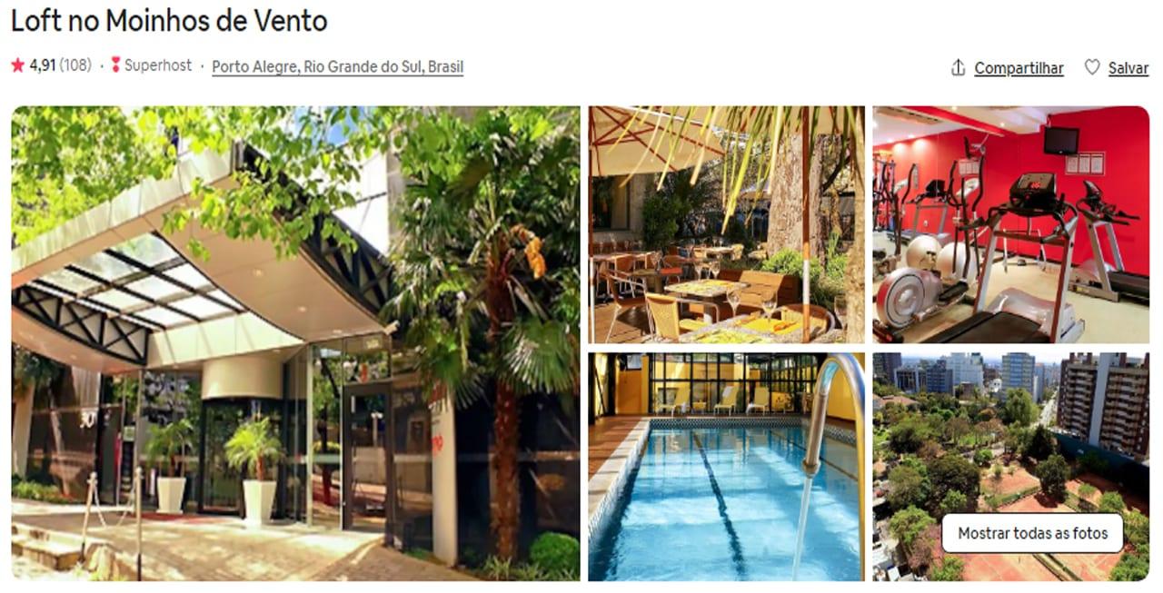 Airbnb Porto Alegre estudio