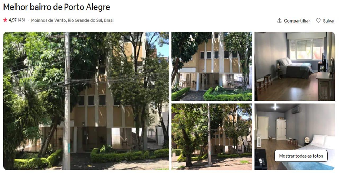 Airbnb Porto Alegre higienopolis