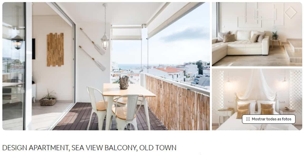 Airbnb Portugal com vista