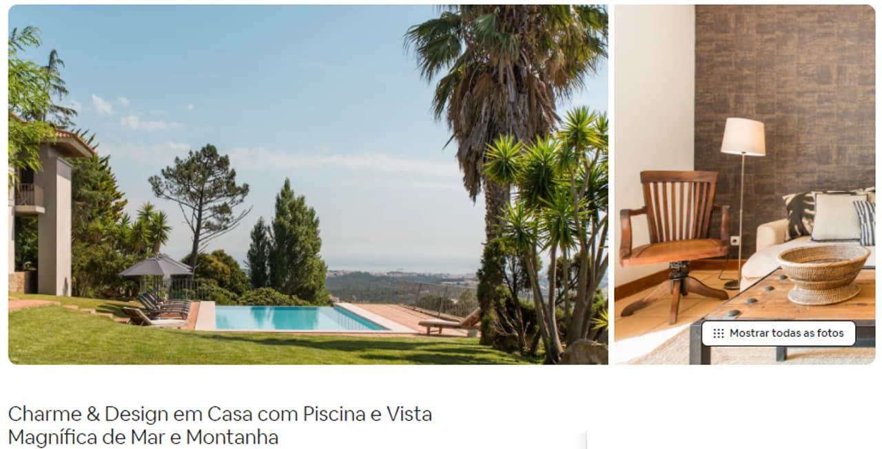 Airbnb Portugal casa de montanha