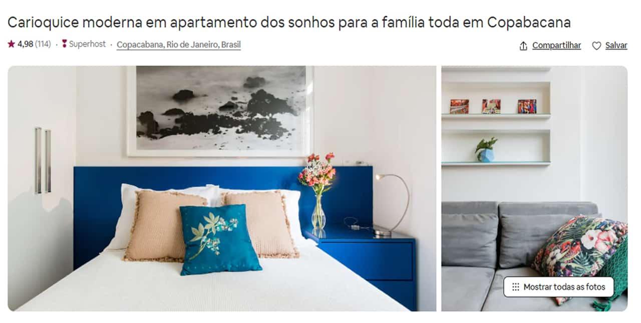 Airbnb Rio de Janeiro leblon