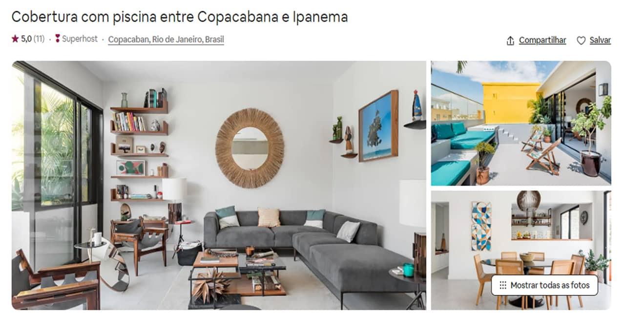Airbnb Rio de Janeiro santa teresa