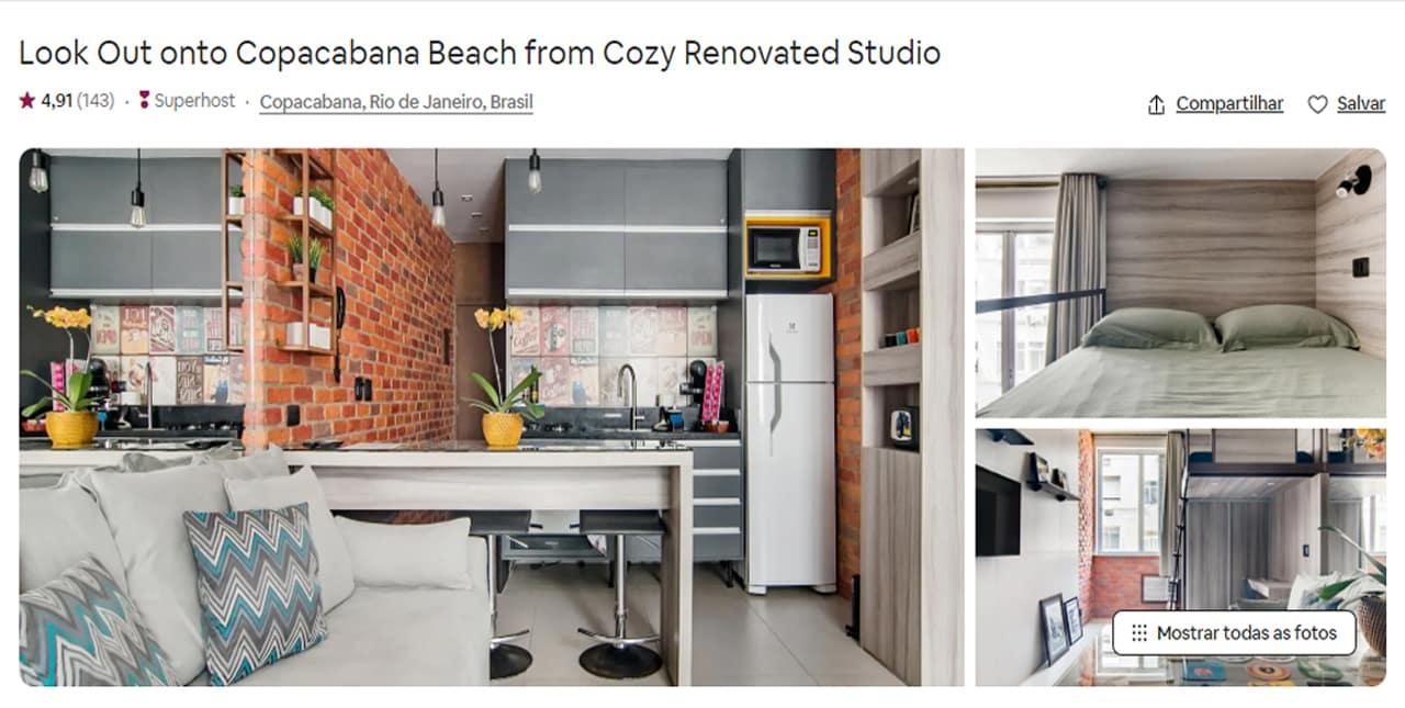 Airbnb Rio de Janeiro botafogo
