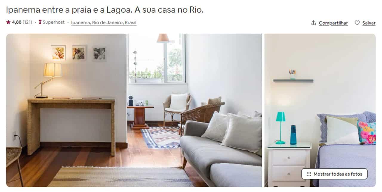 Airbnb Rio de Janeiro arraial do cabo