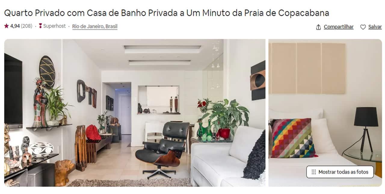 hospedagem para familia airbnb