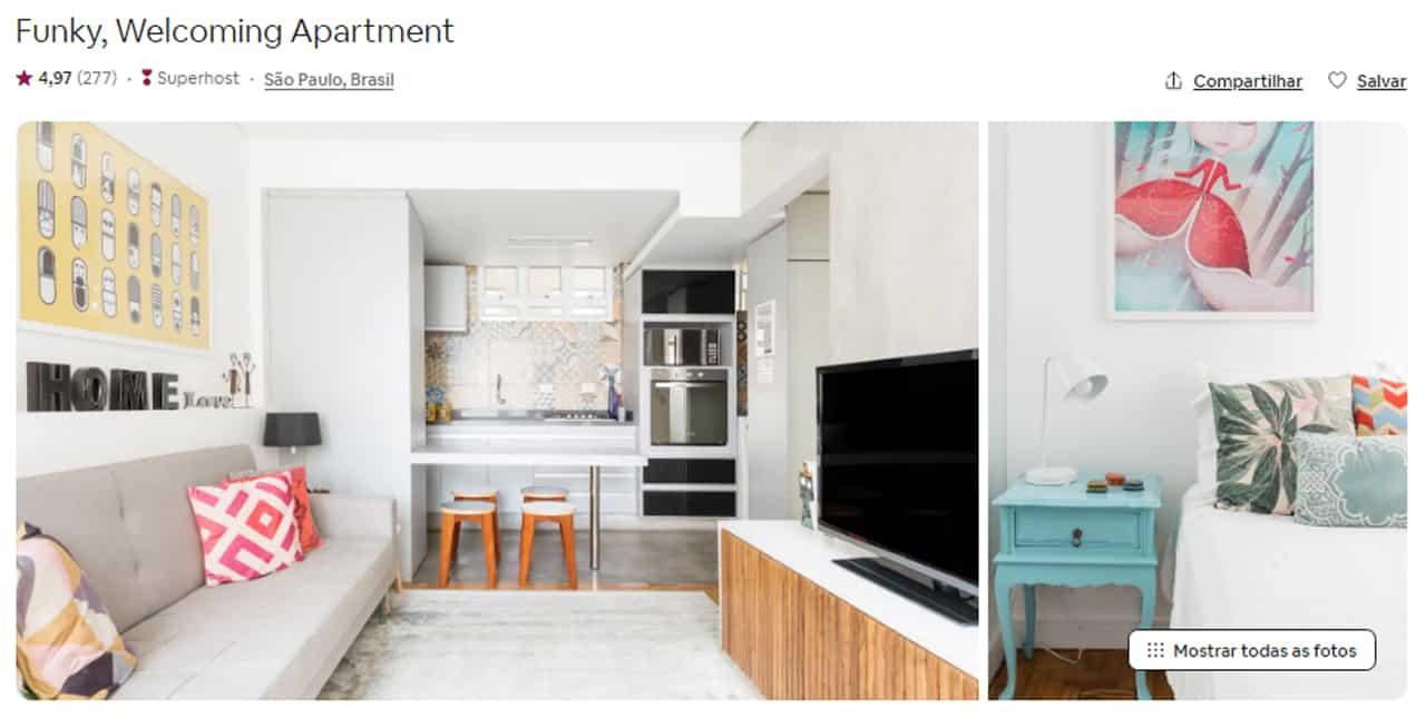 airbnb são paulo jardim