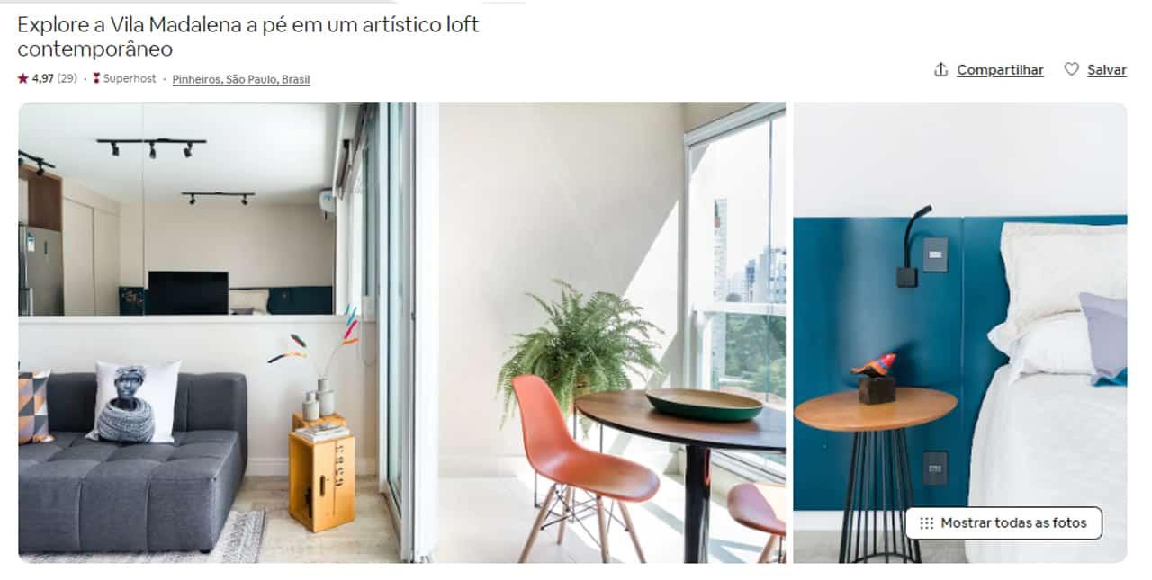 airbnb são paulo vila madalena