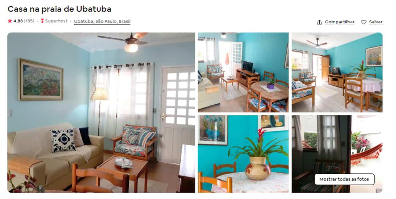 Airbnb Ubatuba toninhas