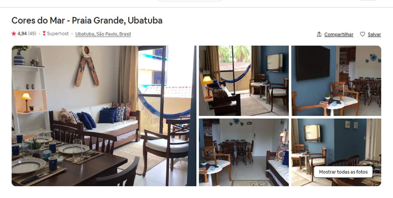 melhor Airbnb Ubatuba