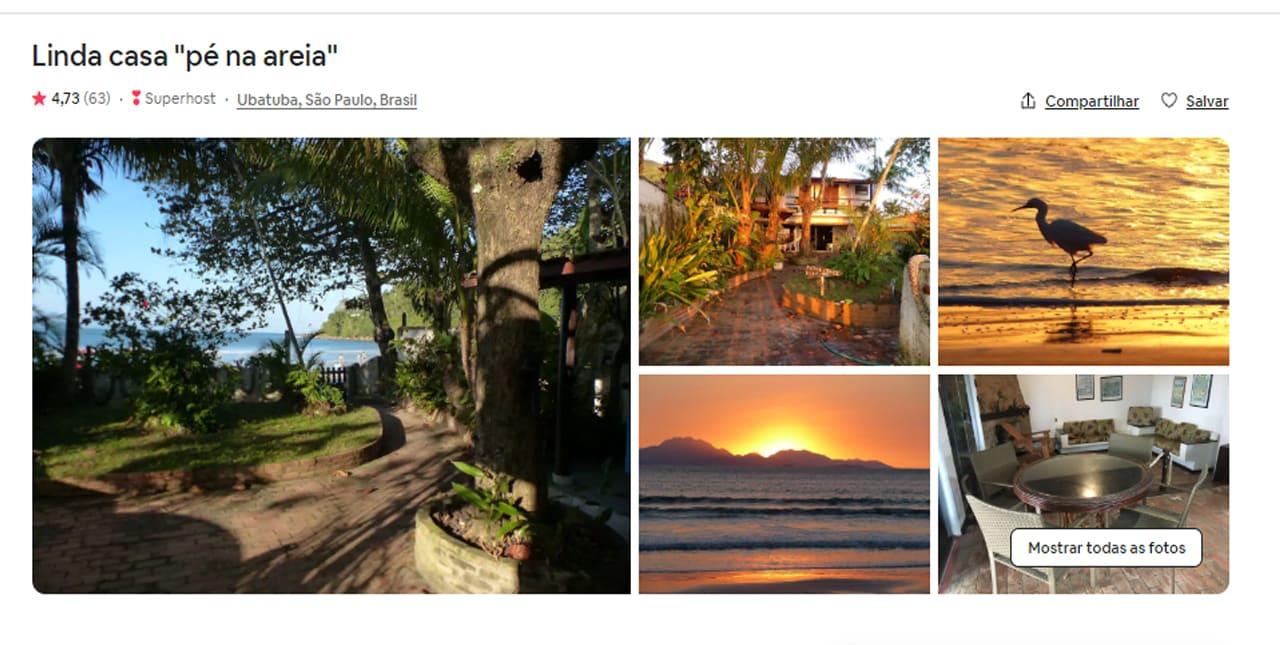 Airbnb Ubatuba casas