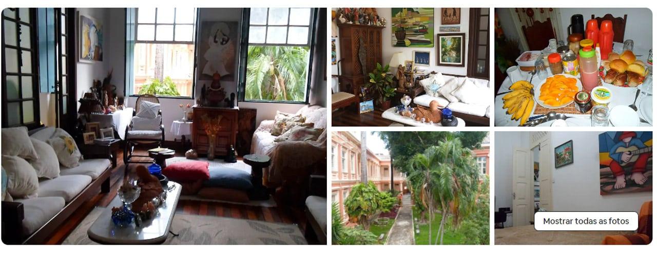 Casas para alugar no Pelourinho