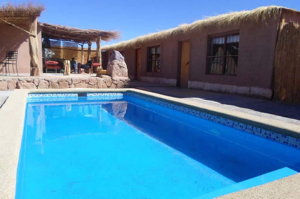 Hoteis com piscina no Aatacama