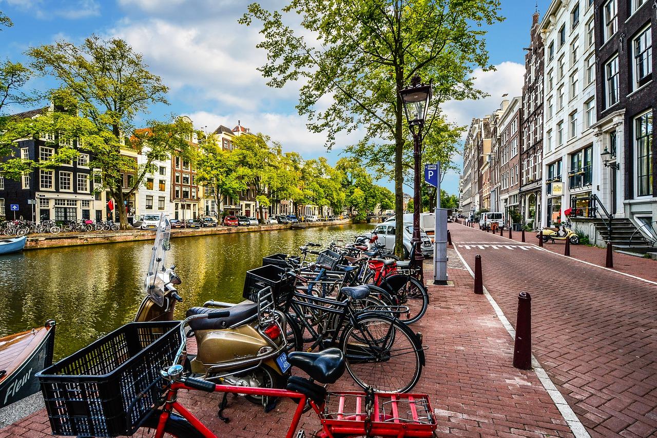 Viajar de carro para Amsterdam