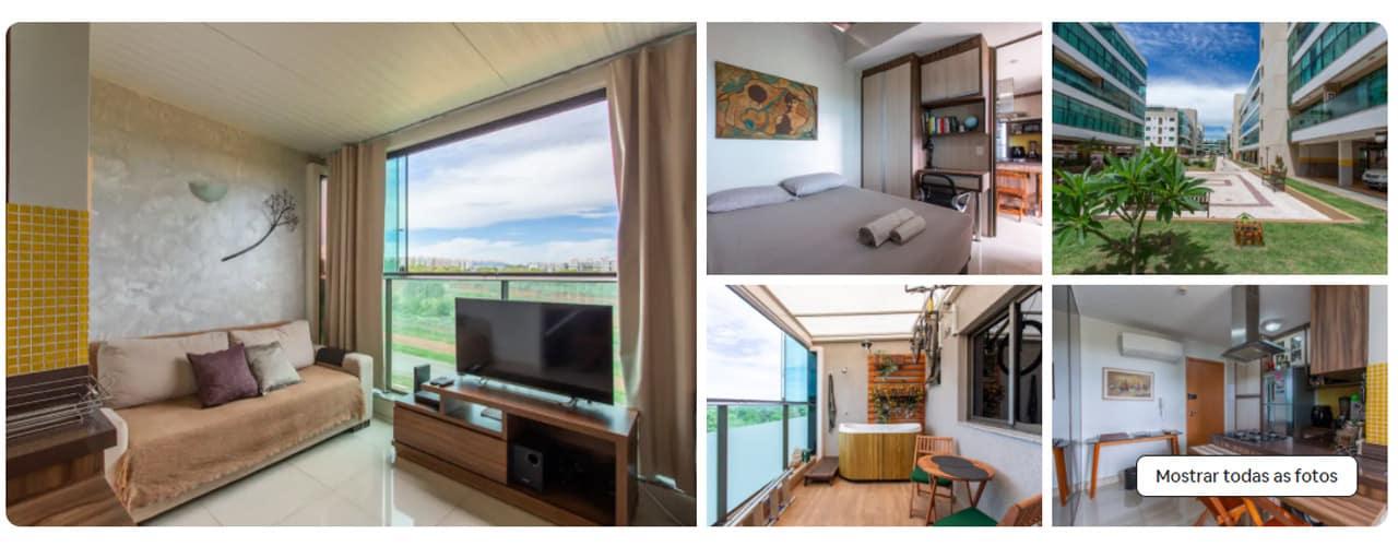 airbnb Brasília Burle Marx
