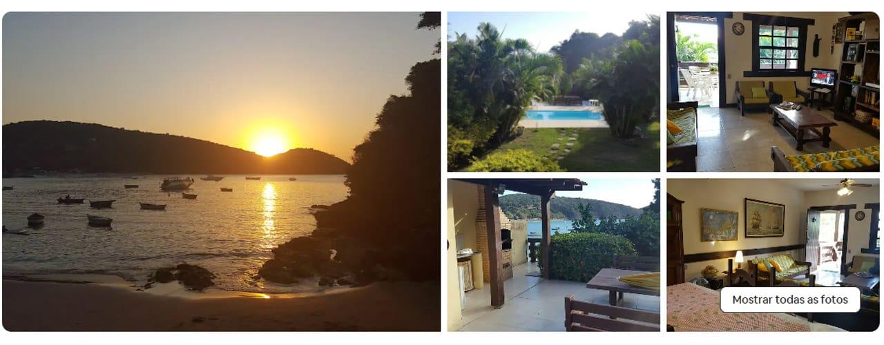 Casas para alugar na Praia João Fernandes