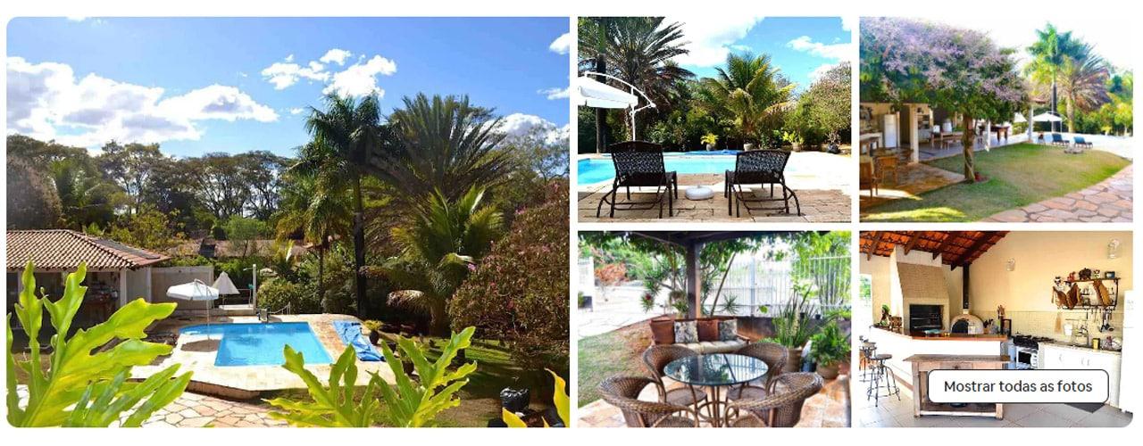 casa com piscina em brasilia airbnb