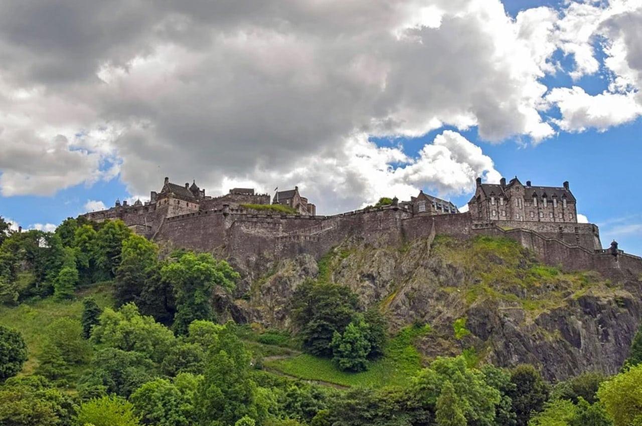 fotos de paisagens naturais Edimburgo Escócia