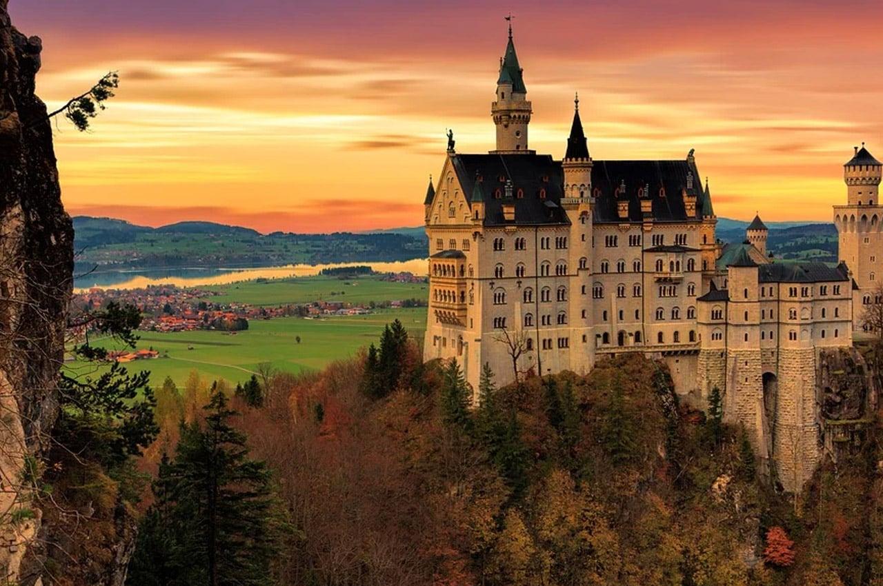 fotos de paisagens naturais paisagens naturais da Alemanha