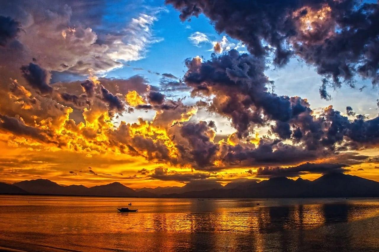 fotos de paisagens naturais por do sol