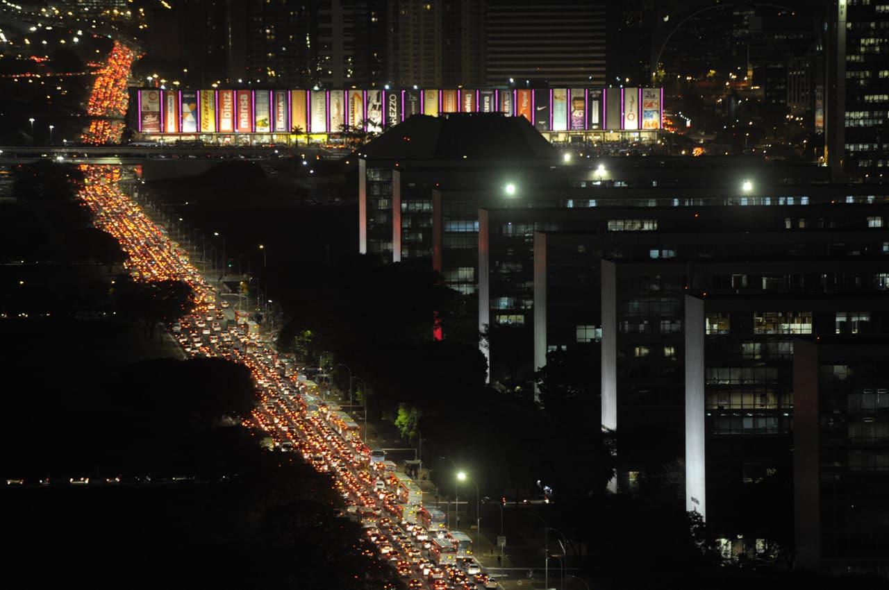 trânsito em brasilia