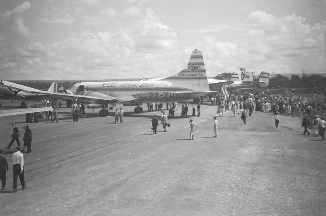 aeroporto brasilia inauguracao