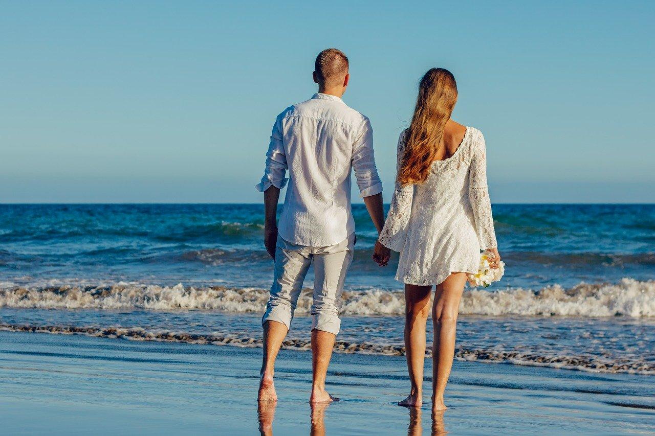 Casamento na praia fotos