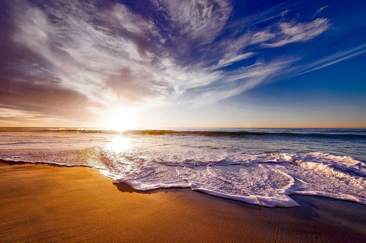 fotos do amanhecer na praia