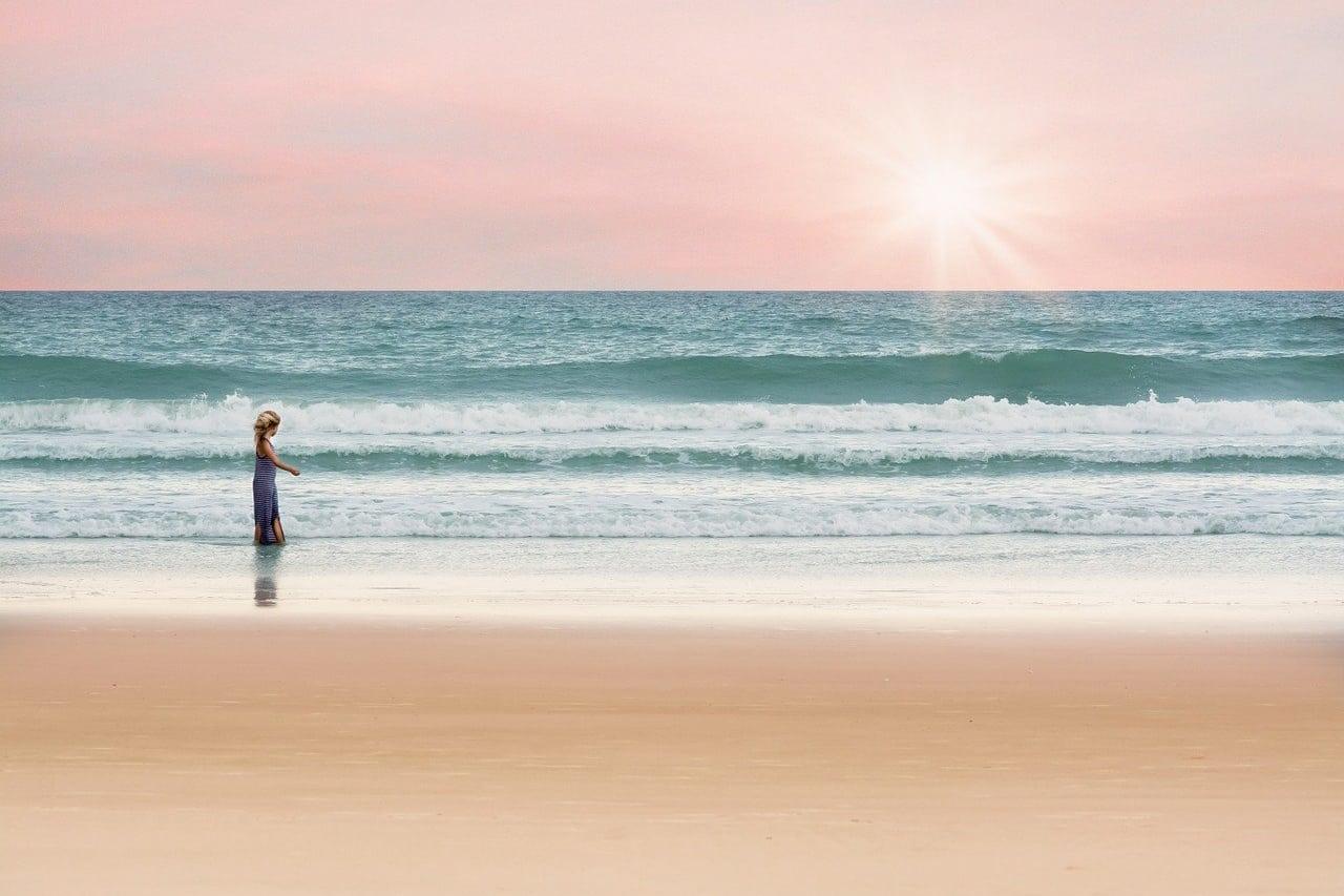 Fotos lindas na praia