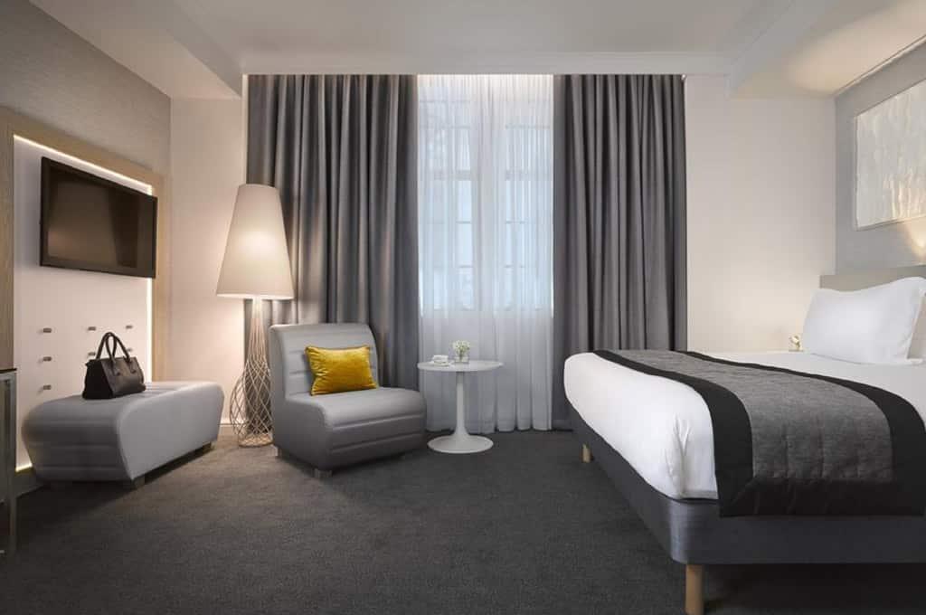 hoteis modernos em edimburgo
