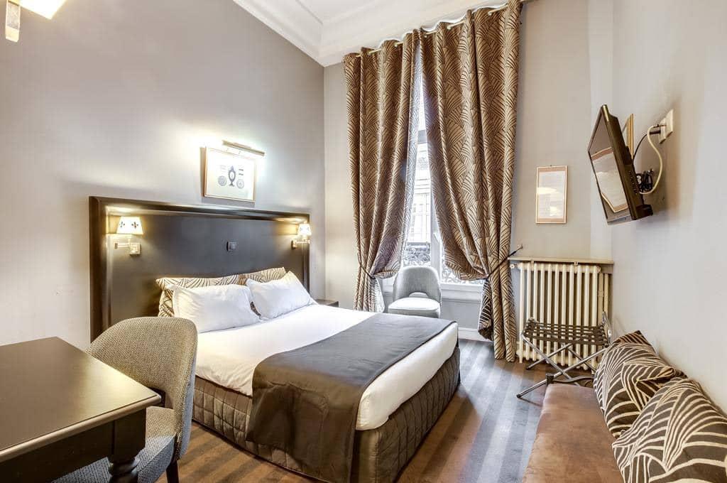 hoteis em paris perto da opera garnier