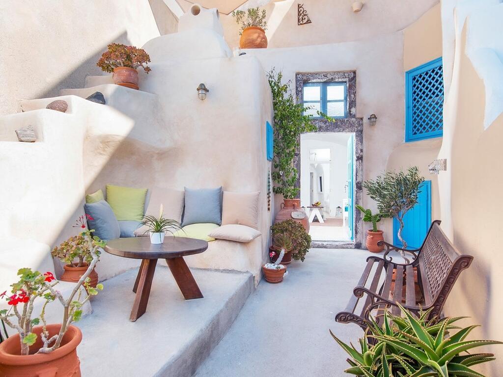hotéis em Santorini românticos