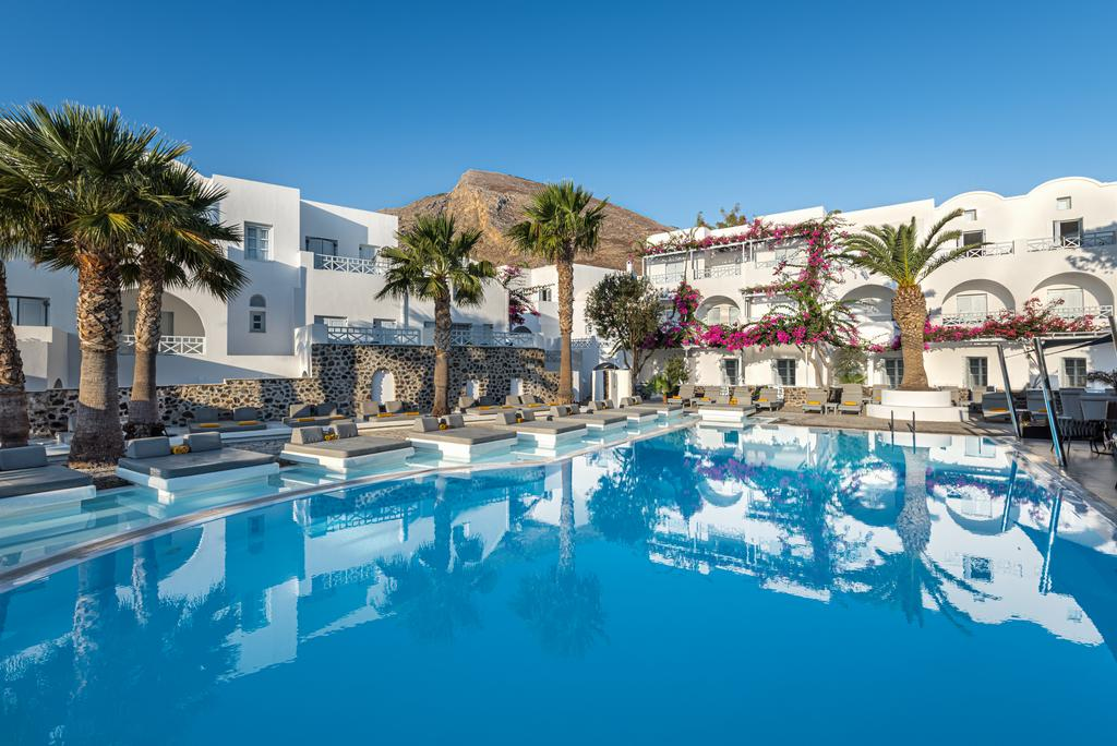 hotéis recomendados em Santorini com spa