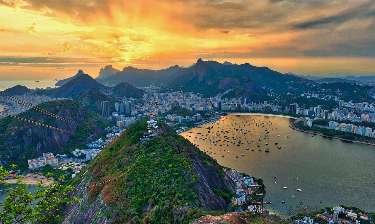 lugares bonitos para viajar no brasil