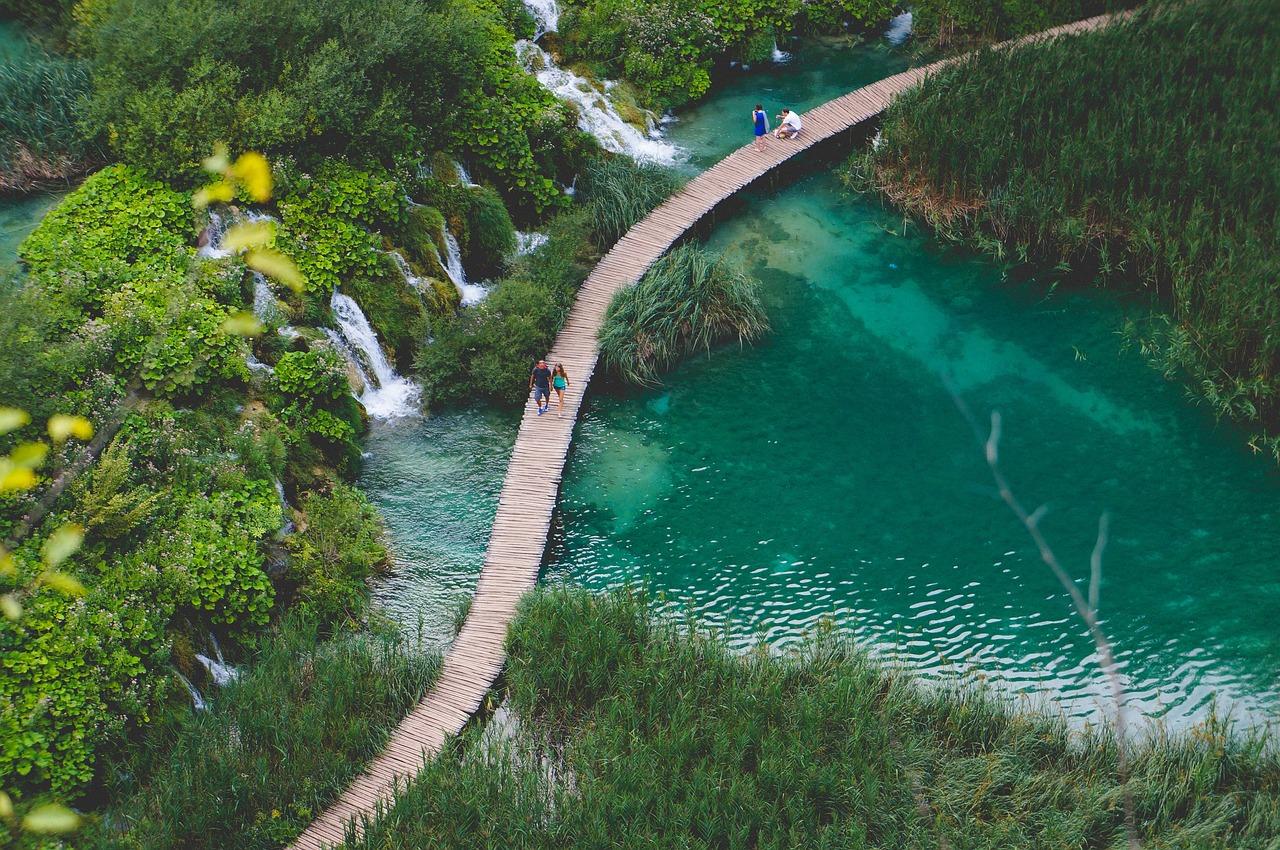 parque das cachoeiras, croácia