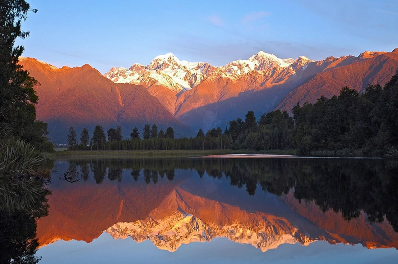 fotos de paisagens naturais da Nova Zelândia