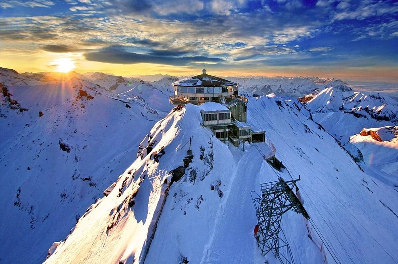 fotos de paisagens naturais suiça inverno