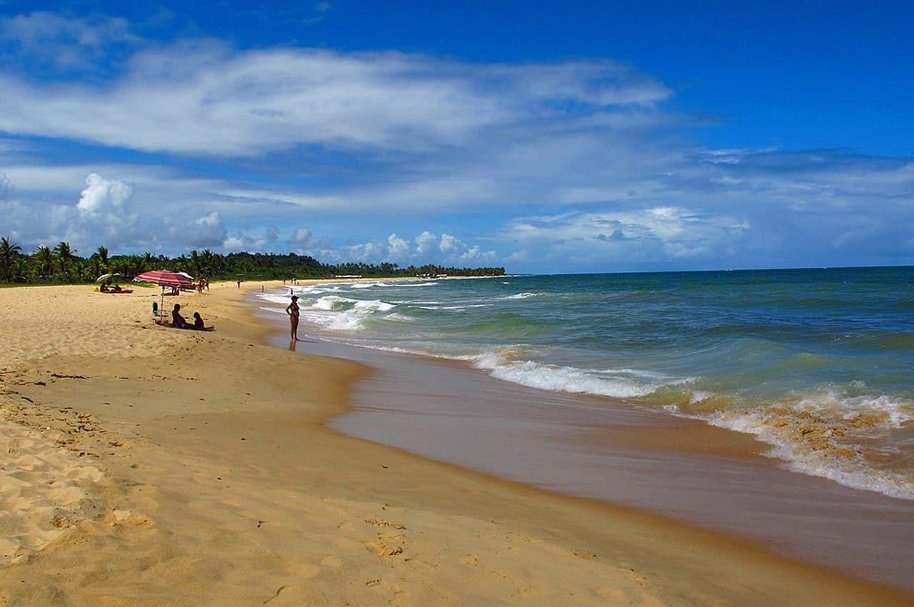 fotos de praias em Trancoso