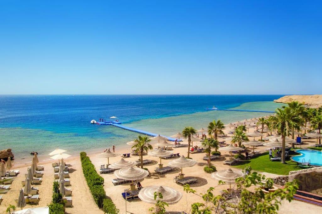 melhores praias do Egito